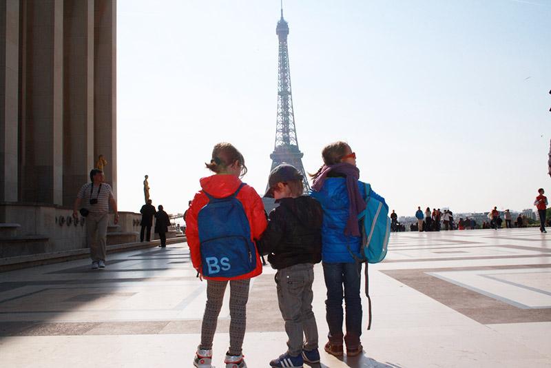 Découverte de la Tour Eiffel