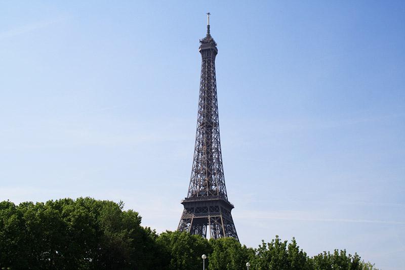 Tour Eiffel, vue de la Seine
