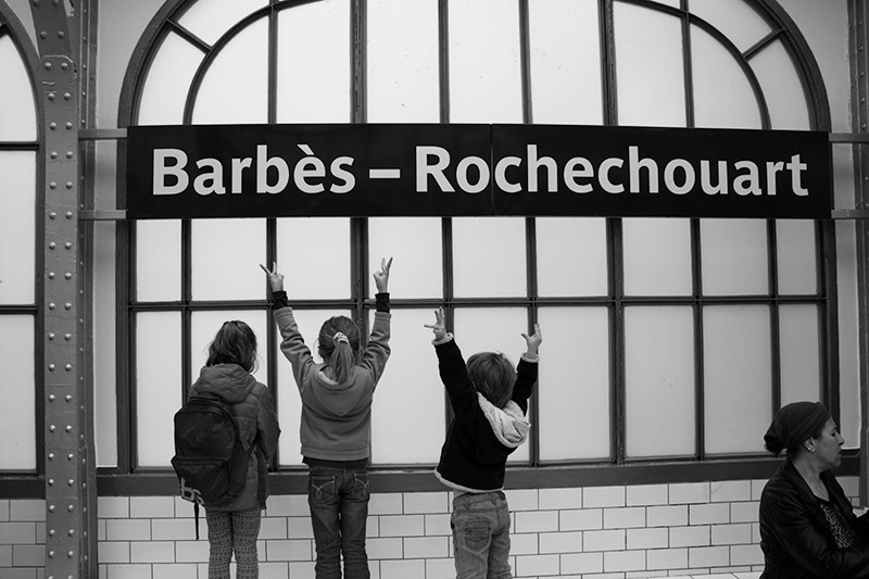 Station de métro Barbès