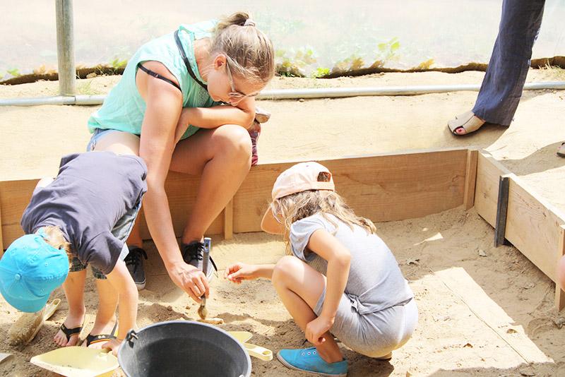 Atelier archéologie au CAIRN