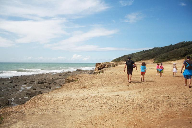 Promenade sur les côtes vendéennes