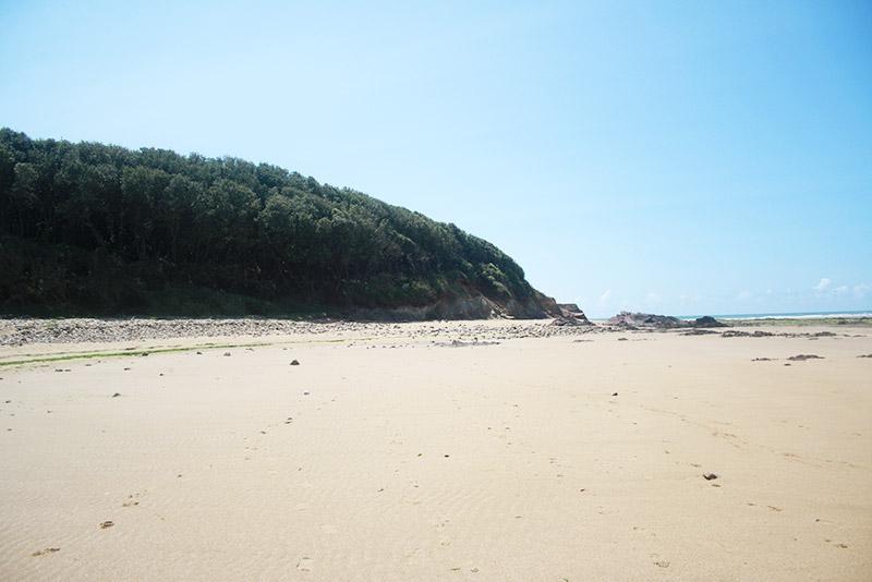 La plage du bout du monde