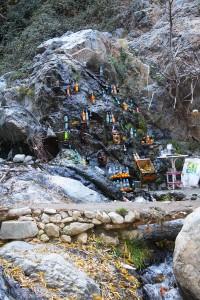 Des rafraîchissements dans les cascades de l'Ourika