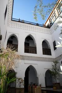 Cour intérieure du Ryad