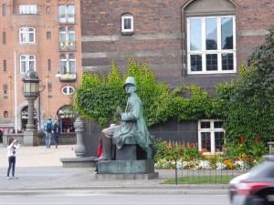 Andersen, égérie de la ville