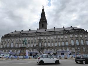 Christiansborg (le parlement danois)