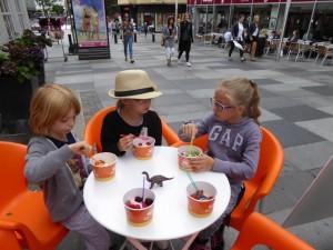 Frozen yogurt à Aarhus