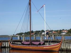 Fregate au musée des bateaux Vikings de Roskilde