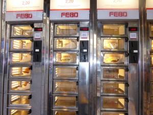 Distributeur de hamburgers (!)