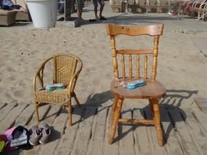 Sortie de plage très organisée !