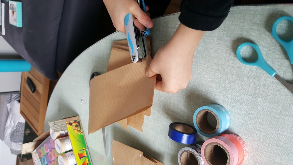 Fabrication des pochettes