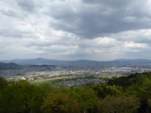 Kyoto vue de la montagne des singes